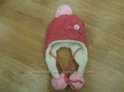Комплект шапка и шарфик для девочки