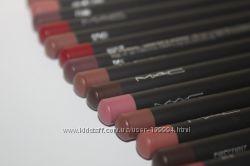 Карандаши для губ от Mac оригиналы в разных цветах