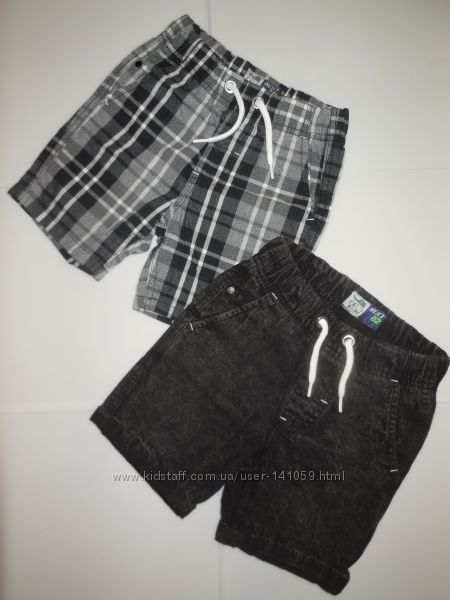 стильные шорты next, old navy, carters, reserved