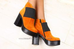 замшевые ботинки 38 размер