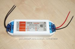 Блок питания для LED светодиодных лент 220V - 12V 6. 3A 72W