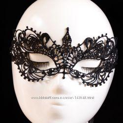 Кружевная маска для глаз женская Пятьдесят оттенков серого