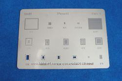 BGA шаблоны трафареты Apple iPhone 4S пластина для реболлинга