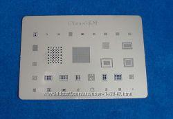 BGA шаблоны трафареты iPhone 6 пластина для реболлинга