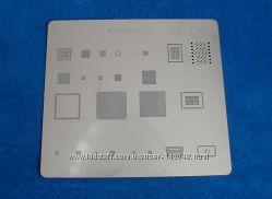 BGA шаблоны трафареты iPhone SE, пластина для реболлинга