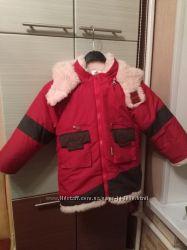 Зимняя куртка на овчине рост 104 Срочно