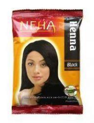 Хна Индийская для волос Henna Black черная, 20 г.