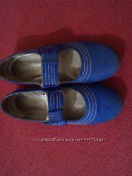 Туфли замша , балетки