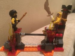 Lego Ninjago 70753 Битва над обрывом с лавой
