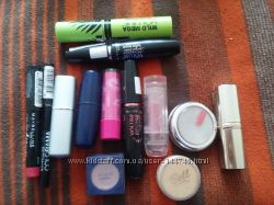 Loreal, color me, max factor, maybelin, pupa косметика