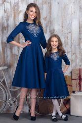 платье с вышивкой 48р.