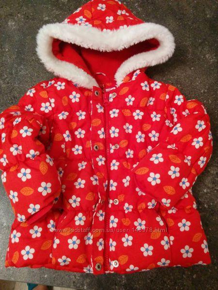 Куртка зимняя Mothercare 12-18 мес. до 90 см.