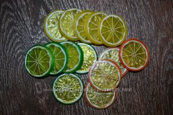 Плоды, овощи на проволоке для декора