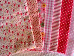 Ткани для творчества, рукоделия  розовая