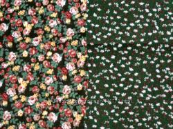 Ткани для творчества, рукоделия  цветы 1