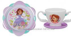 Тарелка и чашка принцесса София  Дисней Disney  Sofia Оригинал