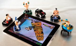 Фигурки для игры на ipad Оригинал Rey Mysterio Figure и Mark Henry 12