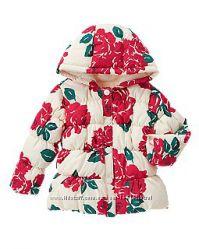 Куртка утепленная для девочки Crazy8 на 4 года Курточка Крейзи 8 Еврозима