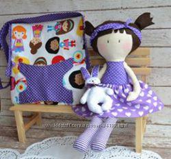 Яркие куколки с сумочкой и юбочкой.