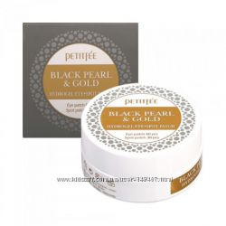 Маски-патчи PETITFEE Black Pearl & Gold Hydrogel Eye Patch