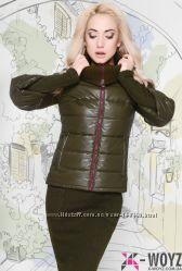 Стильная демисезонная куртка x-woyz 48 р. наличие