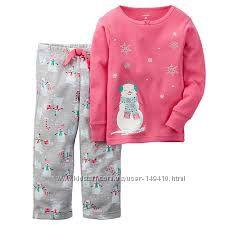 Новогодняя пижама carters, 24m