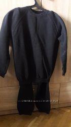 Черный баевый спортивный костюм SPORTEX для подростка