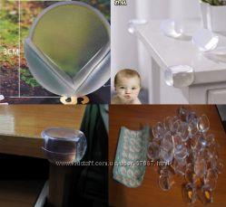 Защита на углы мебели . силиконовые уголки