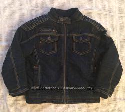 Утепленная джинсовая куртка Chicco, р. 116 см, 6 лет