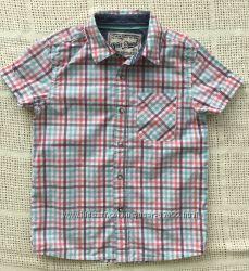 Рубашка Next, футболка-поло Chicco, р. 116 см, 6 лет