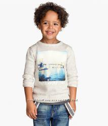 Джемпер H&M 4-6 лет, спортивная кофта Chicco 6 лет