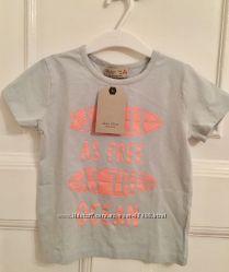 Новые футболки Zara, р. 4 года, 104 см