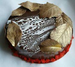 Торт Шоколадно -малиновый