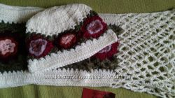 Новые комплекты шапка и шарф