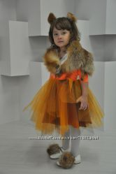 Шикарный костюм лисички напрокат