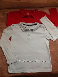 школьные регланчики поло, гольф, блузочка Gymboree, Crazy8, HM
