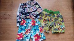 Пляжные шорты на мальчика 2-4 лет