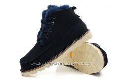 Новинка мужские зимние ботинки UGG David Beckham Boots Black