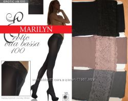 Колготки с кружевным поясом Marilyn Erotic 15, 30, 100 den VB