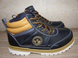 Моднейшие демисезонные ботинки Вашему сыночку B&G. 30 размер