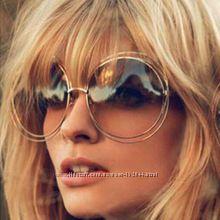 Круглые очки - крупная оправа