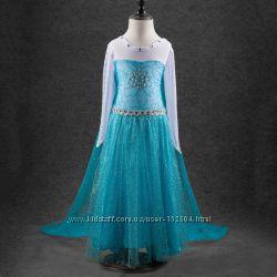 1d9e78696d792e5 Карнавальный костюм платье Эльзы Анны туфли из мультфильма холодное сердце
