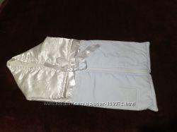Конверт одеяльце для новорожденного малыша качественный, стильный