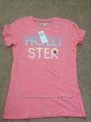 Женская футболка Hollister размер S