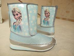 Новые потрясающе красивые сапоги ботинки H&M Frosen. разм. 34