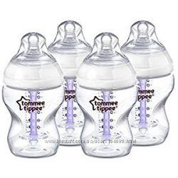 Tommee Tippee новая антиколиковая бутылочка. 260мл
