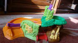Fisher Price развивающая игрушка Сафари джунгли игрушка со звуками животных