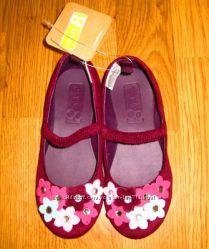 Новые эффектные туфли балетки Crazy8
