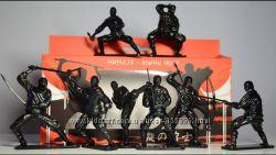 Набор солдатиков 90 мм НИНДЗЯ - ВОИНЫ НОЧИ
