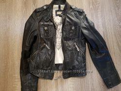 Кожаная куртка 42-44 размер Турция
